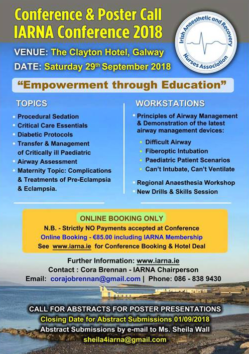 2018 IARNA Conference
