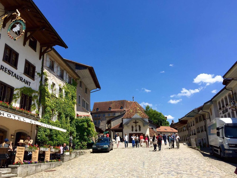 The town center is as quaint as its cobblestoned roads.