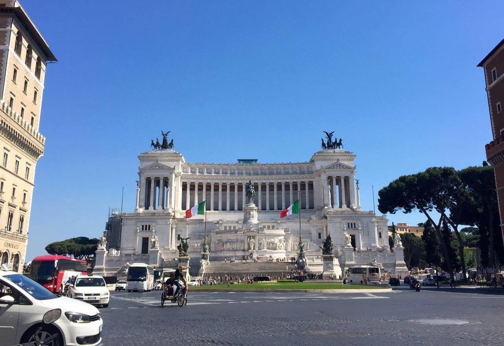 Exterior of the Altare della Patria