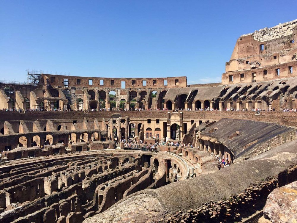 Of course, any visit to Rome would be somewhat incomplete without a visit to the  Colosseum . Be aware that the lines can get extremely long here, and visitors can wait for hours to enter on a given busy summer day.