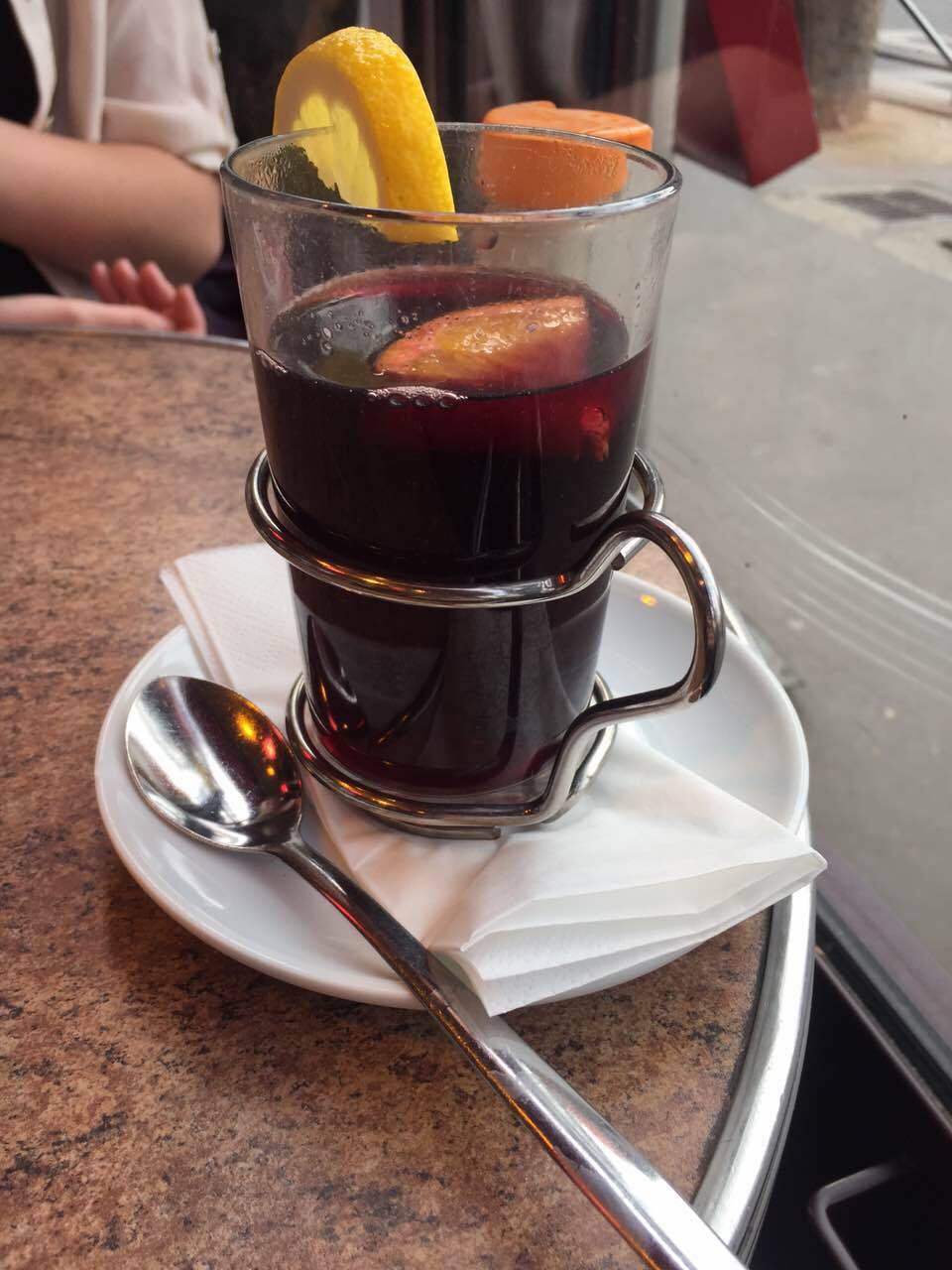 Mulled wine, a warm, neccesary treat during winter