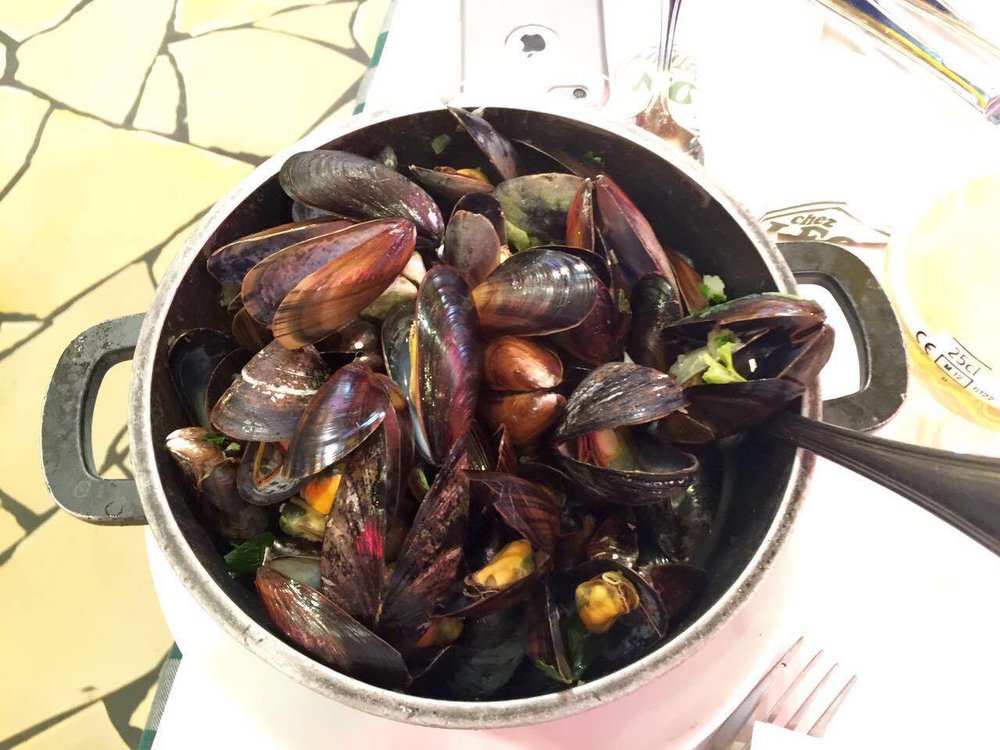 Moules, without the frites.
