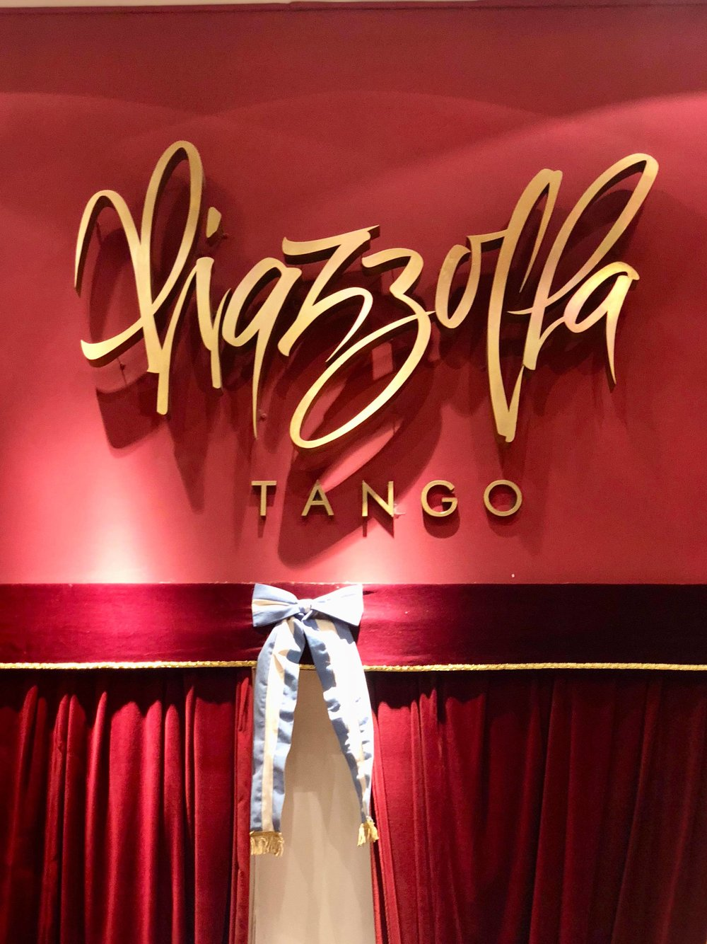 - Though the clientele skews heavily towards tourists, Piazzolla offered a wonderful show and better-than-expected set menu dinner that came with the evening.