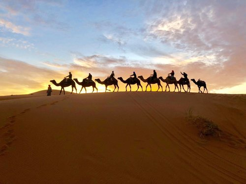 The Sahara, Morocco
