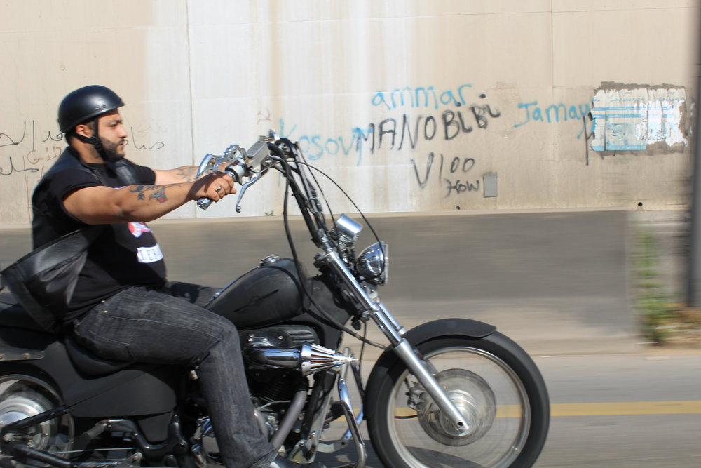 The Bikers of Beirut - Threatened by arrival of the Hells Angels, Lebanon's only outlaw motorcycle gang takes stock. Roads and Kingdoms, June 2016.