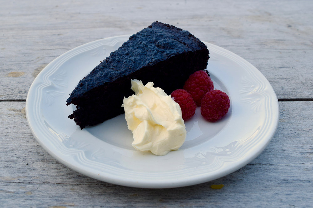 Gluten-free Chocolate And Beetroot cake