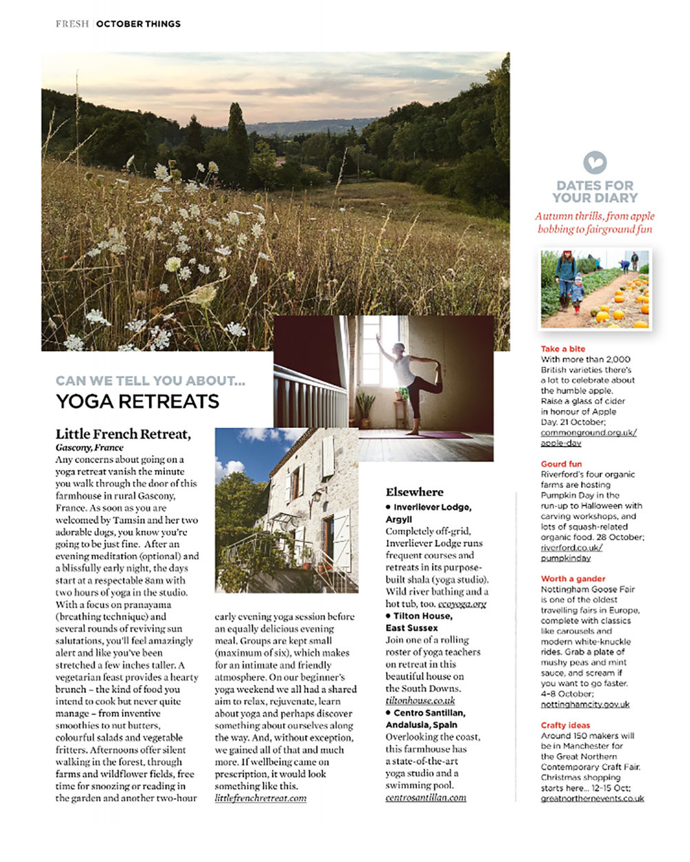 Little French Retreat review: The Simple Things Magazine.jpg