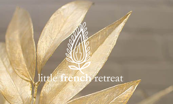 Gold Leaves Merry Christmas Little French Retreat.jpg