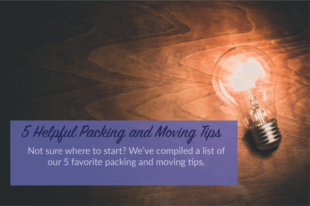 Packing and Moving tips and tricks - top 5