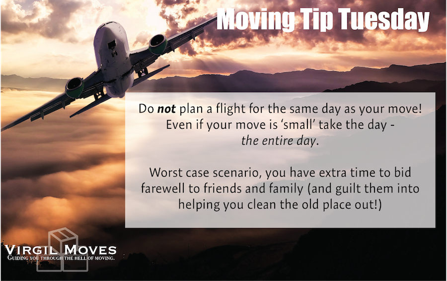 Moving Tips - Flying - Air Travel - Travel - Moving Cross Country