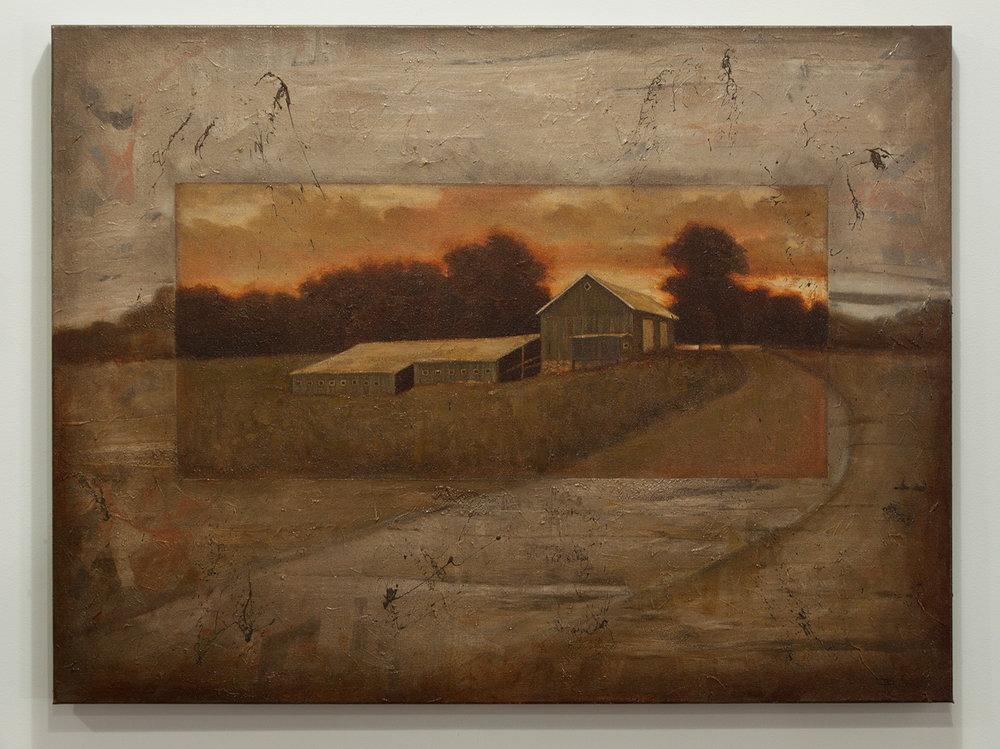 Aurelius ll / oil, 30 x 40