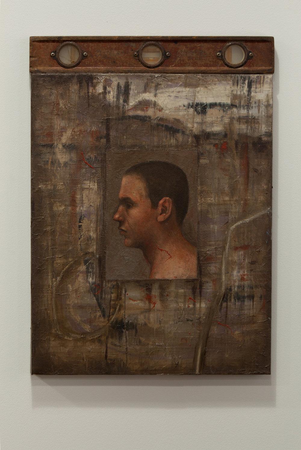 Innocent Man ll / oil, 16 x 22
