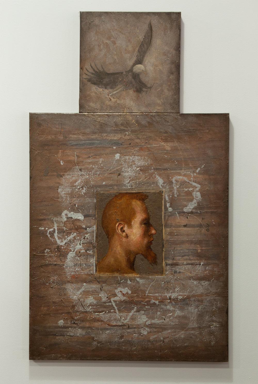 Innocent Man / oil, 24 x 42