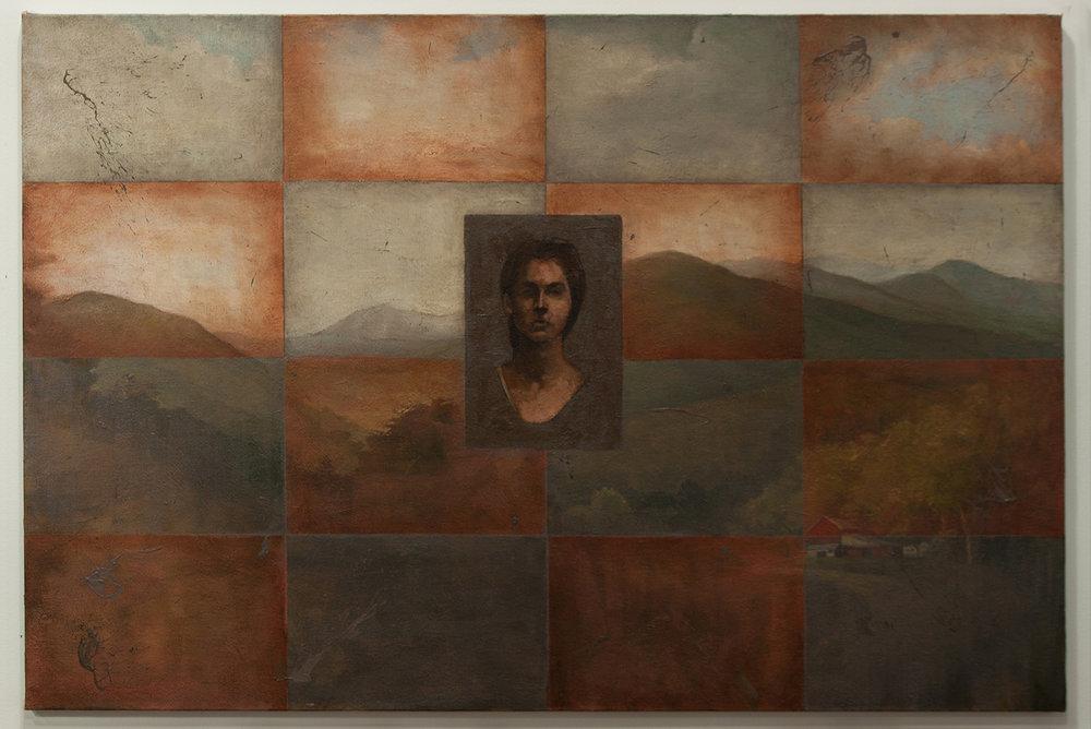 Virginia / oil, 27 x 40