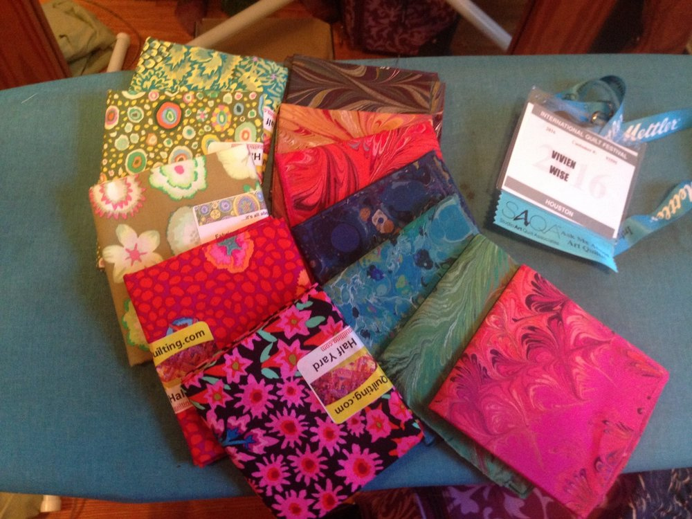 My fabric haul from the weekend