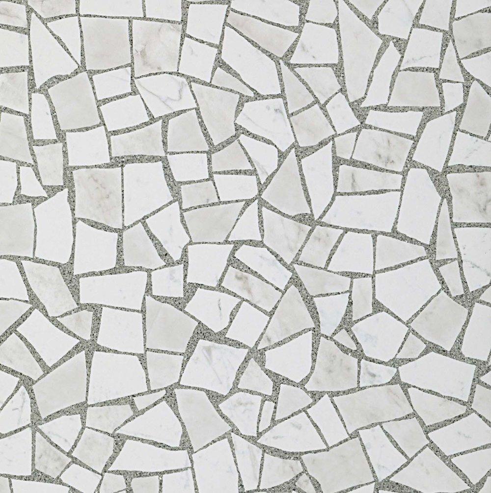 """Carrara  24""""x24"""" Porcelain Honed (polished finish)"""