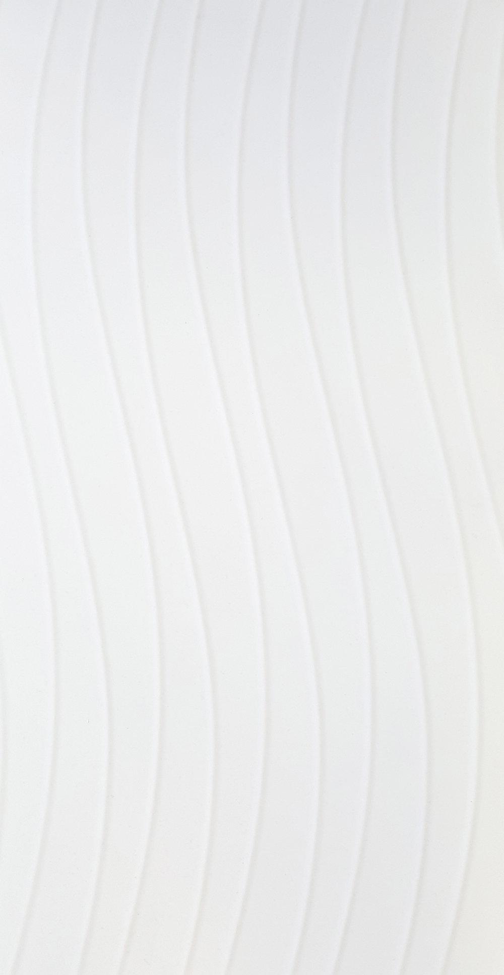 """12"""" x 24"""" Milano White Deco 2"""