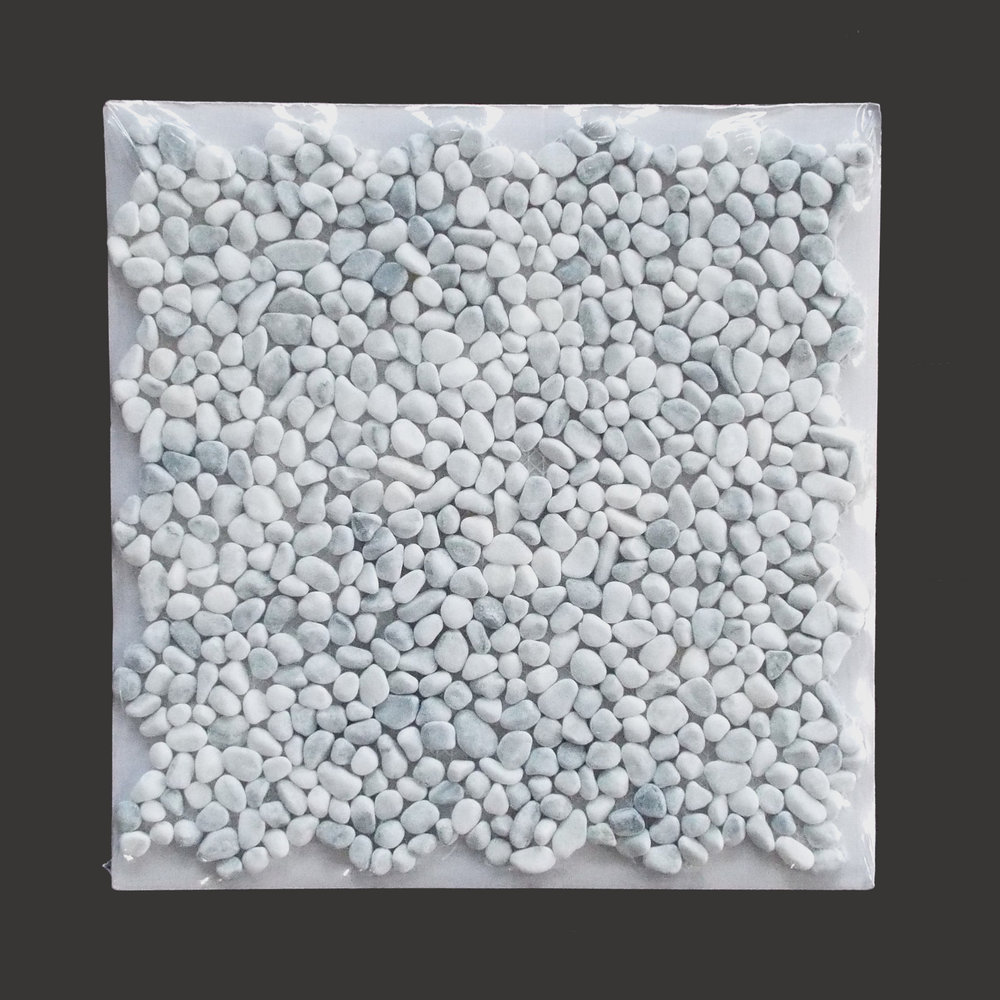 Pebblestone Mini White