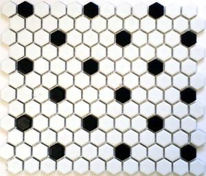 "HEX-1015  Hexagon 1"" Rosette"