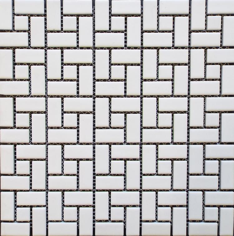 Spiral  - Matte White w/ Matte White Dot [HKS-512]