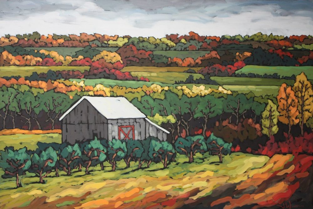 Apple Farm in the Fall