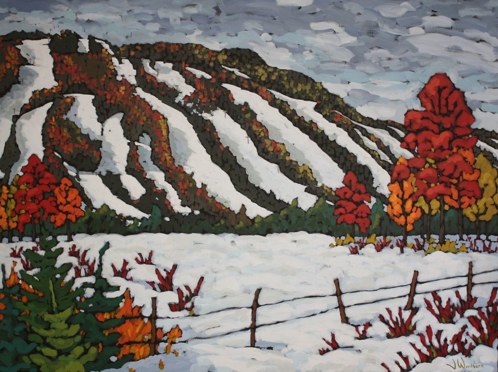 First Snow on Osler