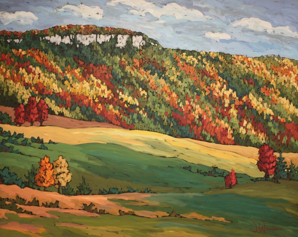 Vibrant Colours on Old Baldy