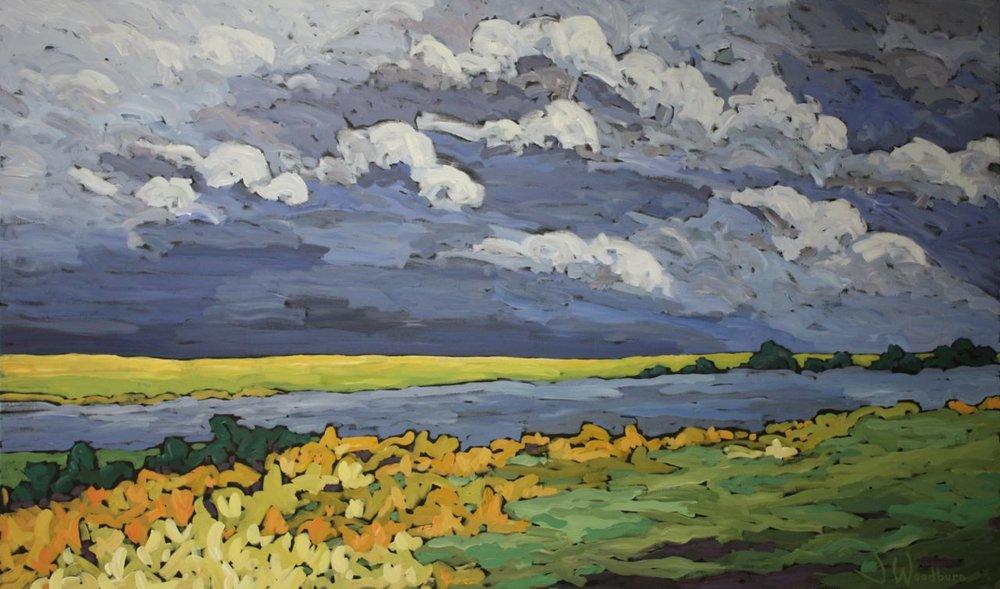 Storm Across the Fields