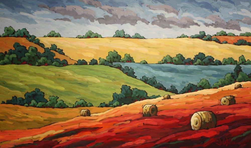 Warm Valley Fields