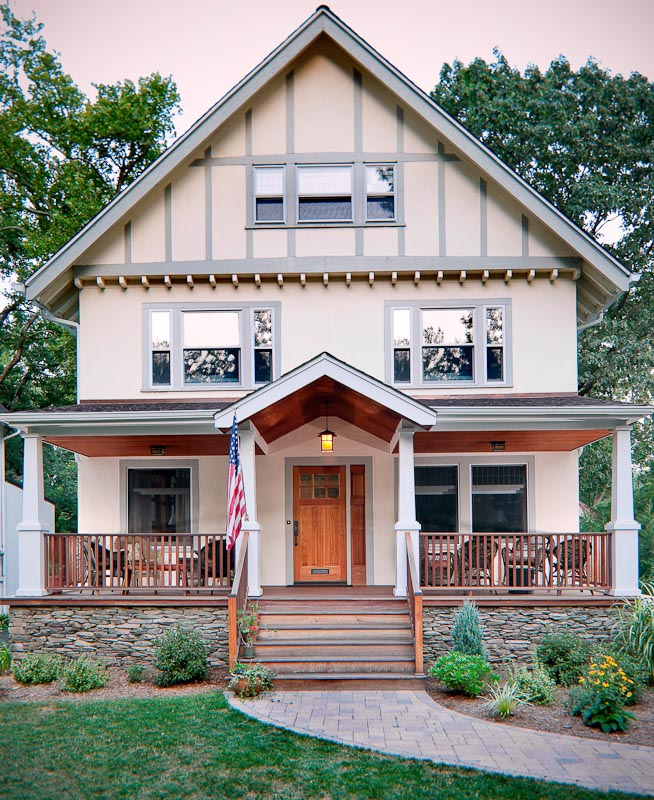 Arts and Crafts Porch // Montclair, NJ