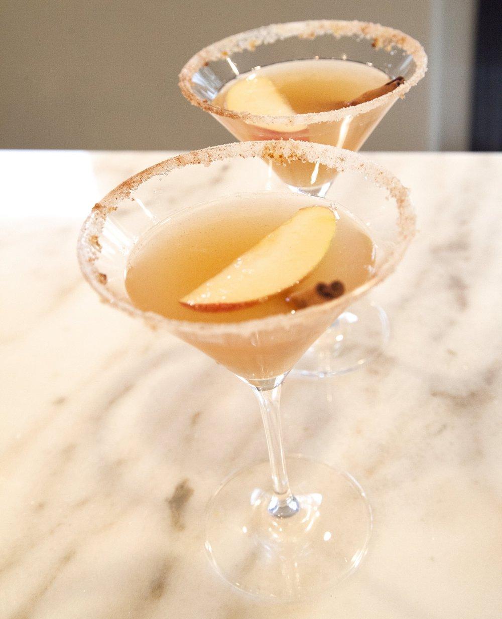 apple cider martini 1