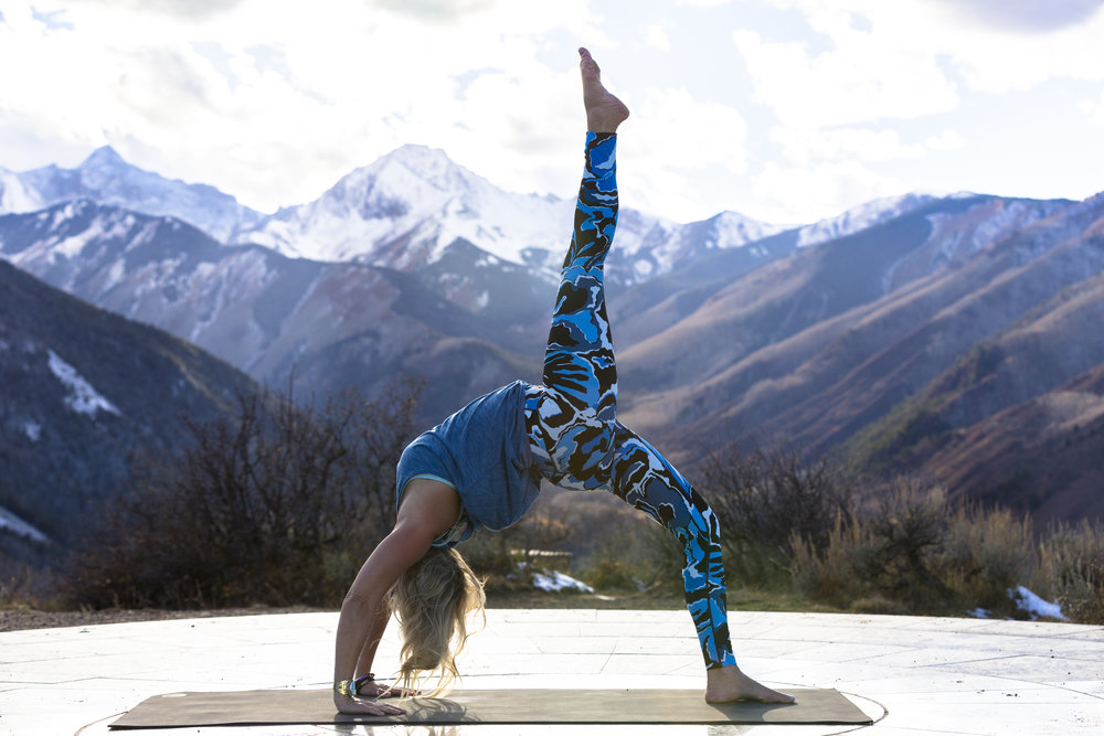 Photo by Jesse Hoffman, lululemon Ambassador and Aspen local professional photographer.