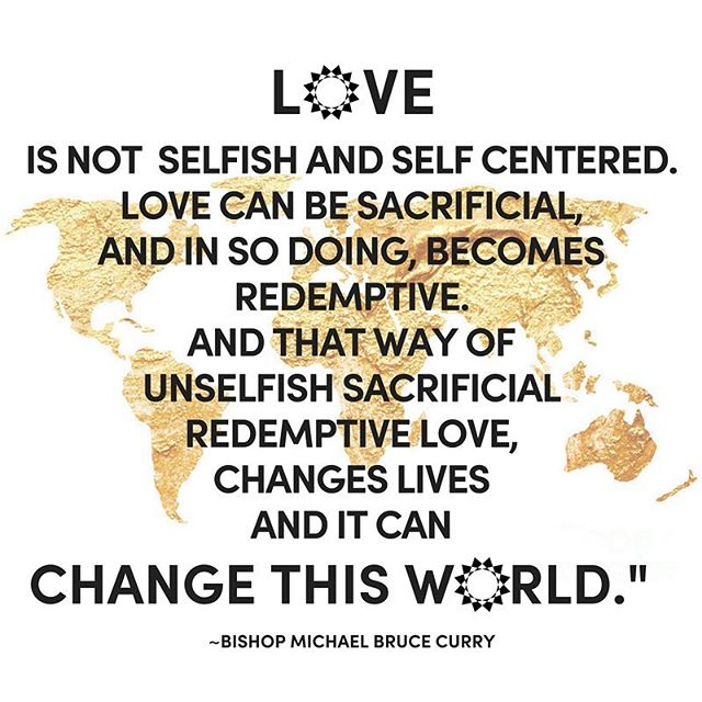 Love can change lives and it can change the world! @pb_curry  Our take-away from the #royalwedding ✨