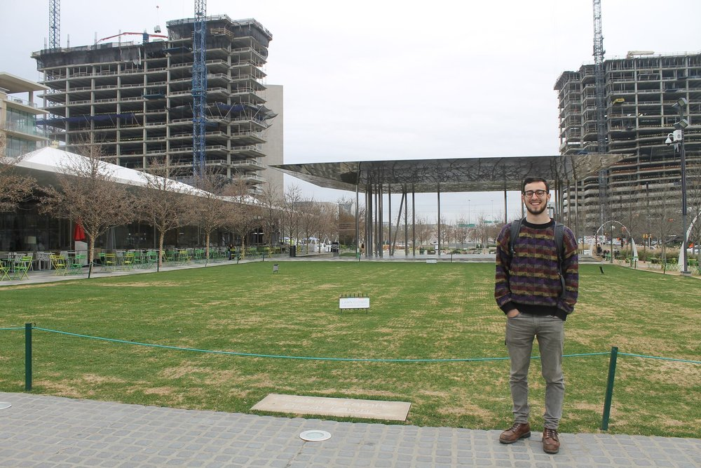 MuniciPal's own David Meni at  Klyde Warren park , a great example of the topic we're covering today.