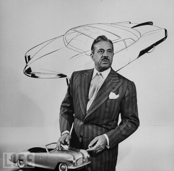 Industrial designer Raymond Loewy