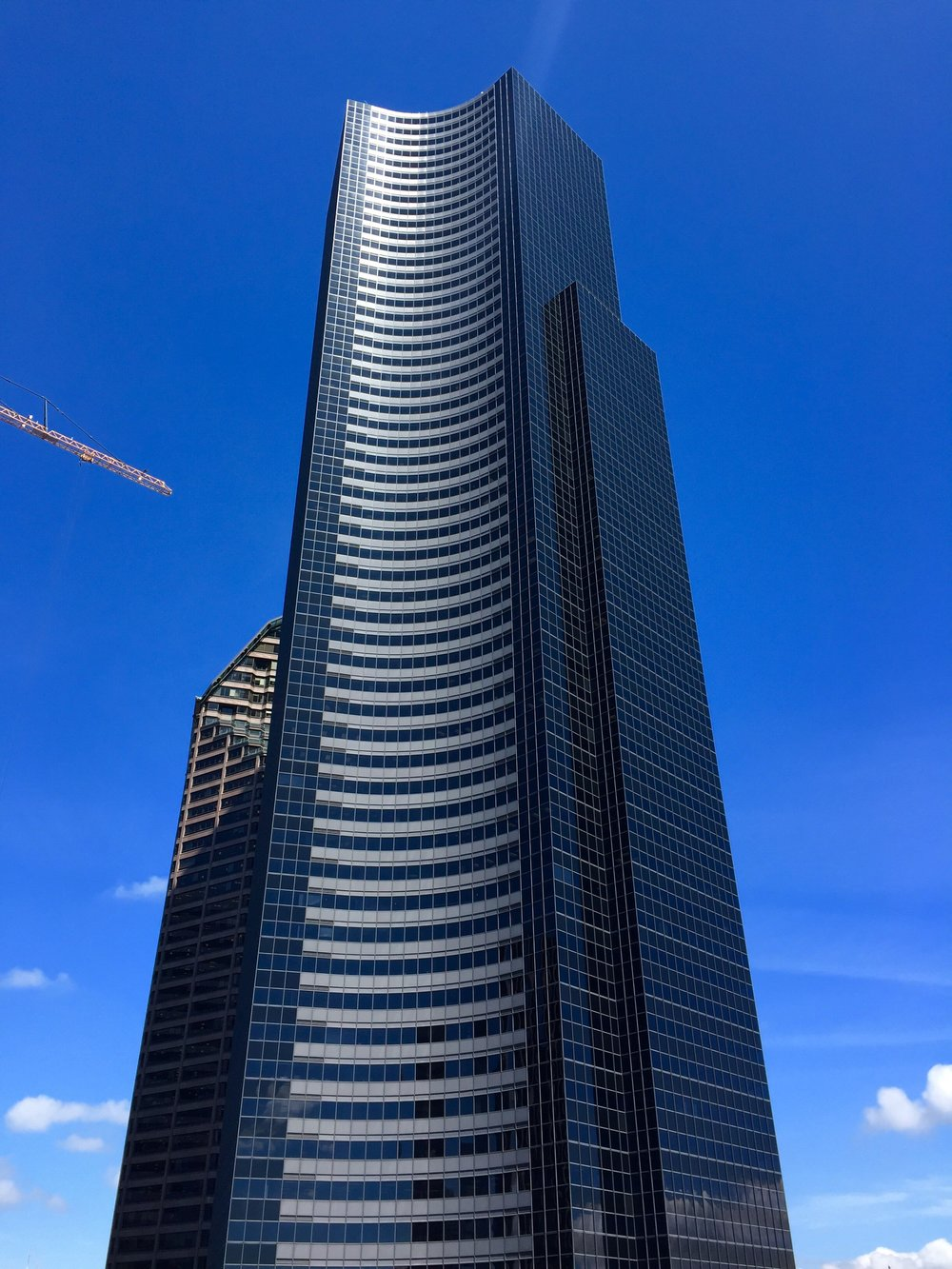 "Seattle's Columbia Center, the tallest skyscraper in Washington state and site of the projekt202 ""Designing Software for People"" event"