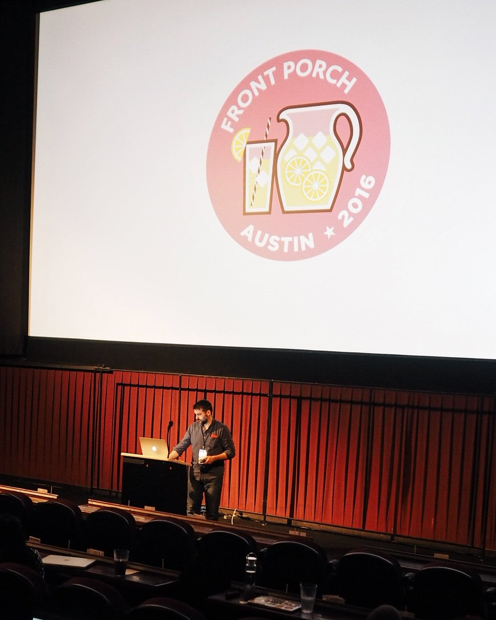 This year in Austin, projekt202 sponsored the Front Porch Conference for Web Developers, founded and organized by projekt202's Chris Williams. An annual event in Dallas, this marked the first year for Front Porch to branch out to an Austin venue.