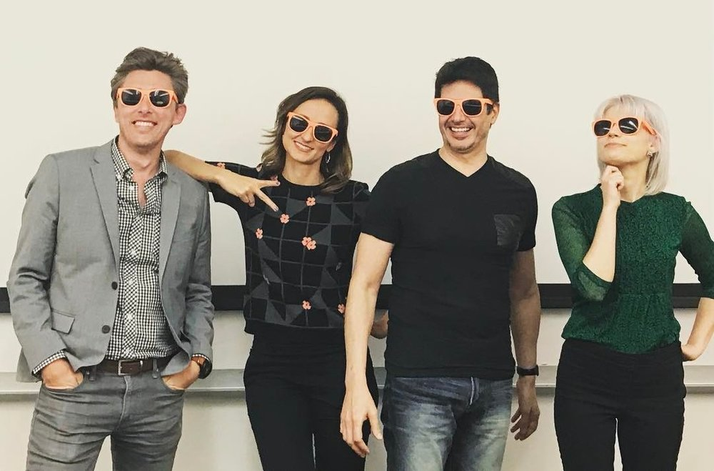 The future of UX design is really bright. Fortunately, Jeremy Johnson, Lindsey Norman, Daniel Sanchez and Chelsea Maxwell never leave home without their projekt202 shades.