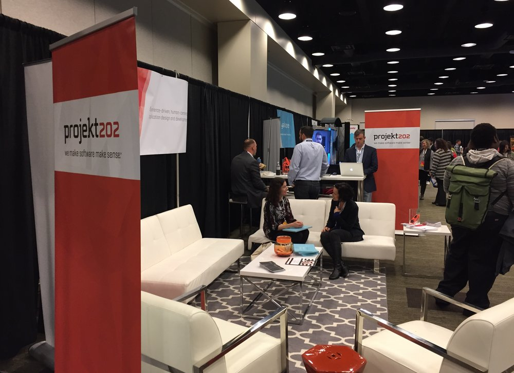 Visit projekt202 in the Biz Dev Lounge for free swag, networking and more at the 2017 Seattle Interactive Conference.