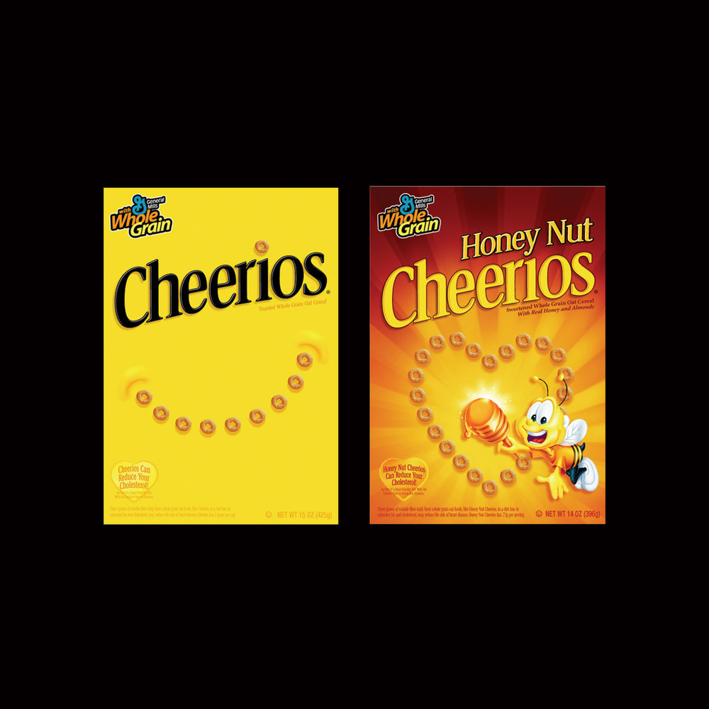 Cheerios Redesign