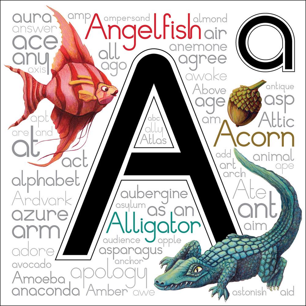 Personal Work - Alphabet Letter Series