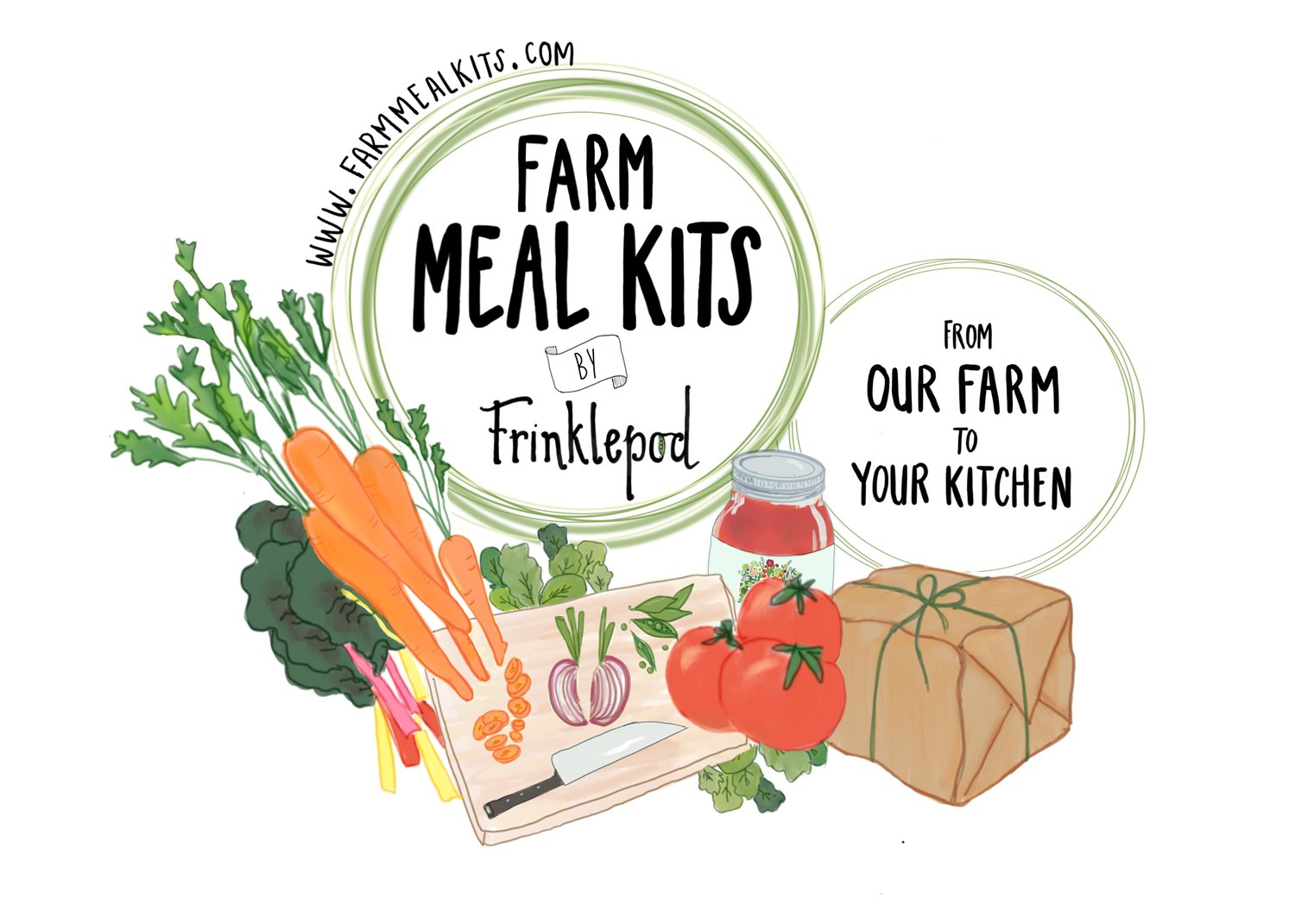 Farm Meal Kits by Frinklepod