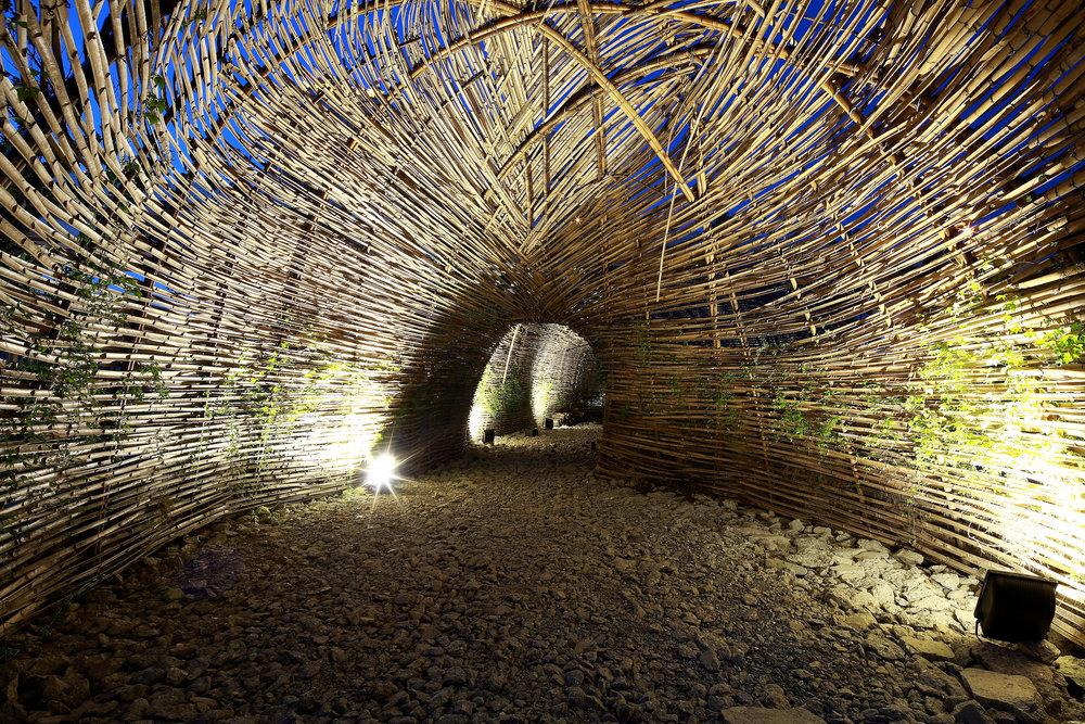 image ©  Forgemind ArchiMedia  //Cicada Bamboo Pavillion