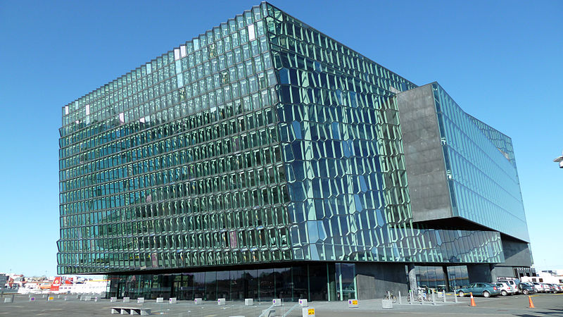 image © Rob Young Harpa Concert Hall
