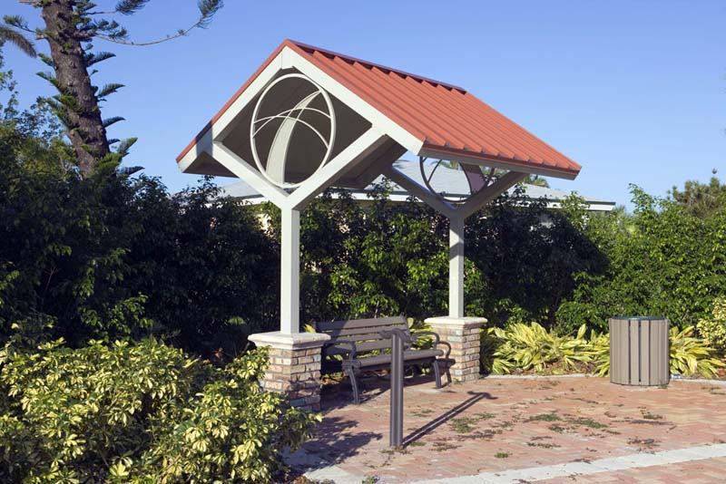 image © Campion Style Bus Stop by Classic Recreation Systems