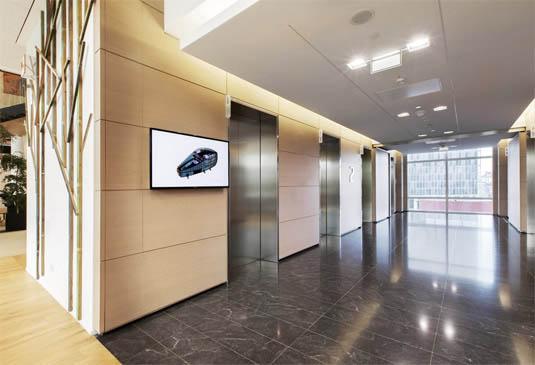 image © MonoSpace Mid-Rise Elevatorby Kone US, Inc.