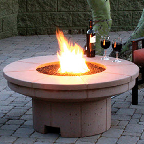 Fire Enclosure: Fire Pit   Product by Phoenix Precast  Products