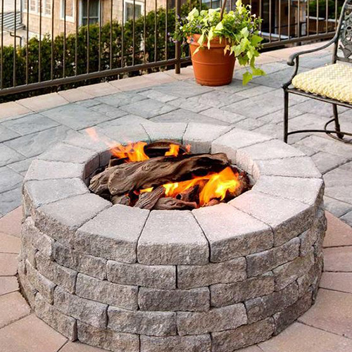 Firepits: Brandon Product by  Techo-Bloc