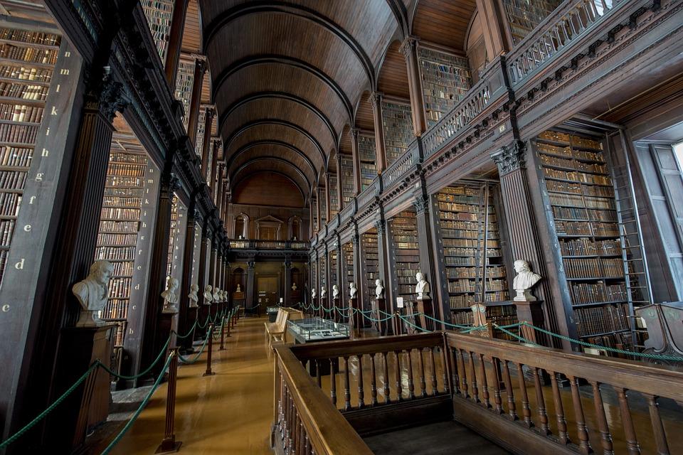 Trinity College Library: Dublin, Ireland