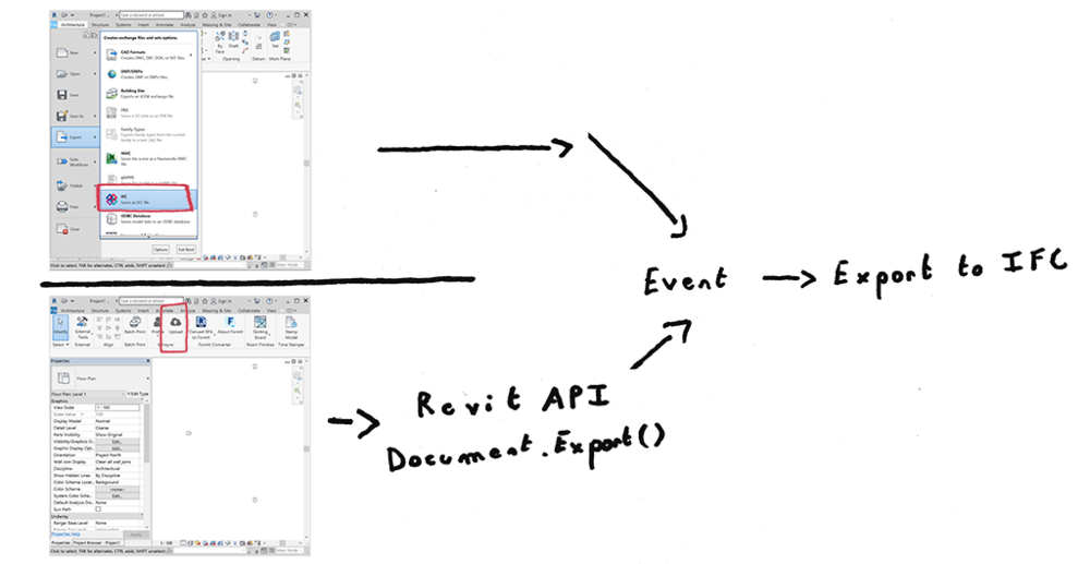 How to Revit export to IFC
